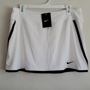 Nike Dri-fit white Skort  Large black trim